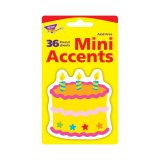 BIRTHDAY CAKE MINI ACCENTS 36