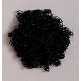 DOLL HAIR BLACK CURLY .5OZ