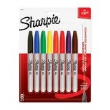 SHARPIE FINE ASST 8CT