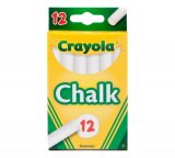 CRAYOLA CHALK WHITE 12CT