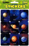 STICKERS PLANETS GNT 36 CT