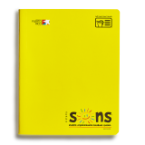 SONS COMP NOTEBOOK YELLOW
