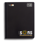 SONS COMP NOTEBOOK BLACK