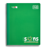 SONS COMP NOTEBOOK GREEN