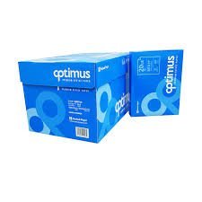 OPTIMUS PAPER 20# WHITE 8.5X11